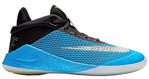 Nike Herren Future Flight (gs) Sneakers Mehrfarbig (Blue Hero/Chrome/Black/Bright Crimson 001) 39 EU - Nike Herren Basketball-schuhe Flight