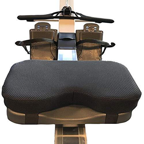 Desirabely Wünschenswert | Widerstand Rudergerät Kissen Memory Foam Waschbare Hülle Sport Horizontal Feste Fahrrad Memory Foam Kissen Ideal zum Rudern