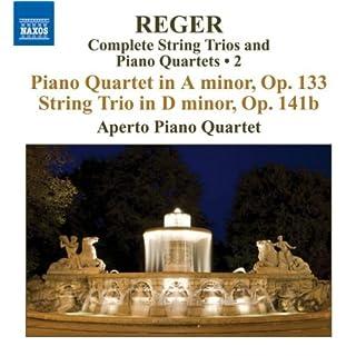Klavierquartett in a-moll, op. 133 / Streichtrio in d-moll, op. 141b