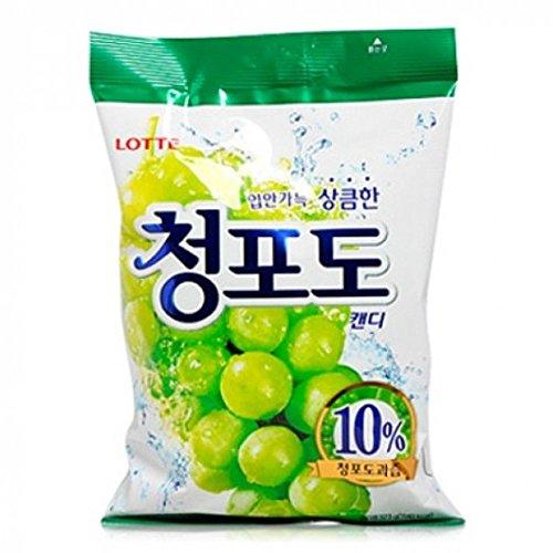 Lotte Weiße Traube Cheongdo Süßigkeit 323G X 2 Pack