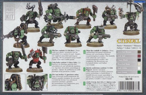 Games Workshop Guerreros Orkos