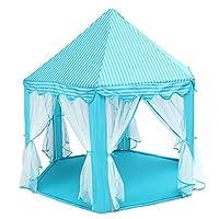 Portable Outdoor/Indoor Castle Powder Princess Game tent Children's Fairy House Hexagon tent