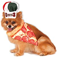 Rubies Disfraz de Compañía Hueso Appetite Pizza Chef Set de mascotas