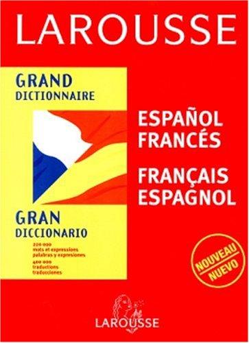 Larousse Gran Diccionario-Spanish/French par Ramon Garcia-Pelayo Y Gross, Jean Testas