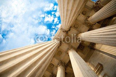 druck-shop24 Wunschmotiv: Columns at the U.S. Supreme Court #86094488 - Bild als Foto-Poster - 3:2-60 x 40 cm/40 x 60 cm