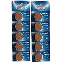 10 x CR2450 2450 CR pilas de litio tipo botón pilas de botón