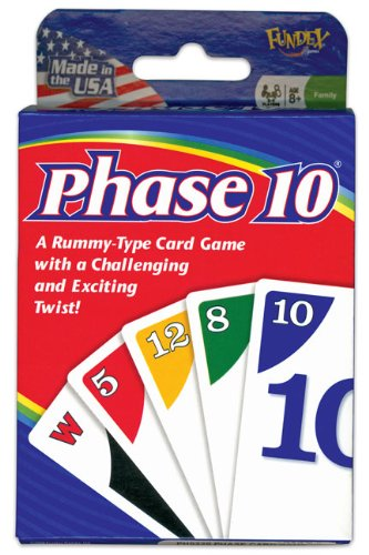U.S. Games Phase 10 Card Game Kartenspiel [englischsprachige Version]