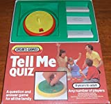 TELL ME QUIZ. vintage 1983 question & answer game by Spears games.