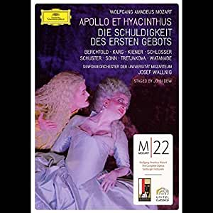 Mozart, Wolfgang Amadeus - Apollo et hyacinthus: Die Schuldigkeit des ersten Gebots [2 DVDs]