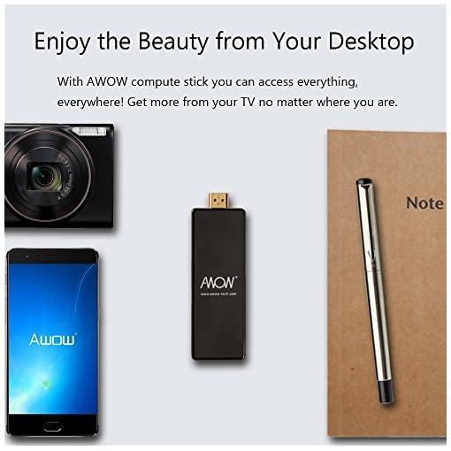 AWOW PC Stick Intel Mini Desktop Computer 32GB ROM 2GB RAM
