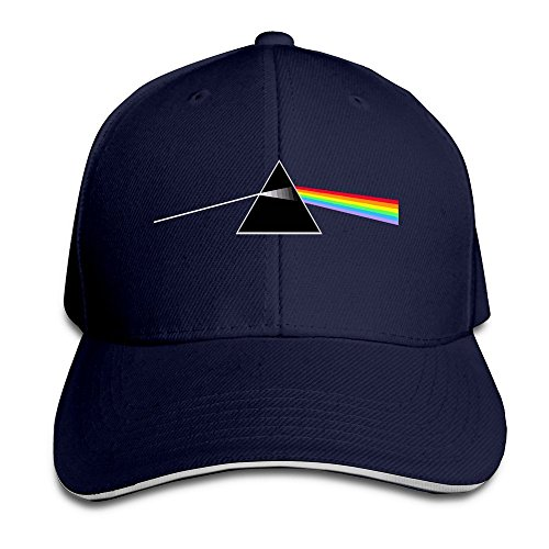 Hittings TopSeller Unisex The Best Band Ever Pink Floyd Adjustable Peaked Baseball Caps Hats Navy