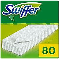 Swiffer Trockene Bodentücher Nachfüllpackung, 1er Pack (1 x 80 Stück)