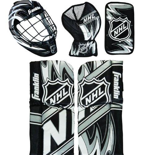 Franklin Shot Zone Mini Hockey Goalie Equipment and Mask Set