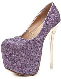 ALUK- Scarpe da donna - Moda europea e americana   tacchi alti   sandali  bassi 4f23b50a98a