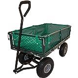 Transportkarre / Gartenwagen mit abnehmbarer Plane - max. 350 kg