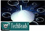 25kg MV2techbeads Mikrosphären von Glas 0–50Micron für sandgestrahlt und Entfernen Finish Hochwertige Harte hartnäckig + 6.0Mohs Sandstrahlgerät