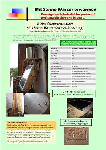 Waschen Net (Mit der Sonne Wasser erwärmen: Den eigenen Schwerkraft-Solarkollektor preiswert und umweltschonend bauen)