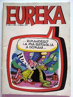 Eureka n.106 1973 Andy Capp, Sturmtruppen/Bonvi ed. Corno FU05