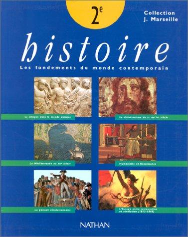 Histoire, Seconde, livre de l'élève, 1996
