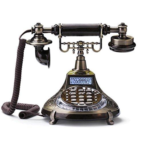 Touch-tone-telefon Telefon (Phone Altmodisch Touch-Ton Telefon Altmodisch Europäisch Ländlich Telefon Festnetz Telefon Festnetztelefon Festnetztelefon Festnetztelefon YHX)