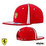 Ferrari Puma Baseballmütze/Schirmmütze, mit flachem Schirm, Motiv 2018Kimi Räikkönen Nr. 7,F1,Formel 1