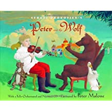 [ SERGEI PROKOFIEV'S PETER AND THE WOLF [WITH CD (AUDIO)] ] Sergei Prokofiev's Peter and the Wolf [With CD (Audio)] By Prokofiev, Sergey ( Author ) Sep-2004 [ Hardcover ]