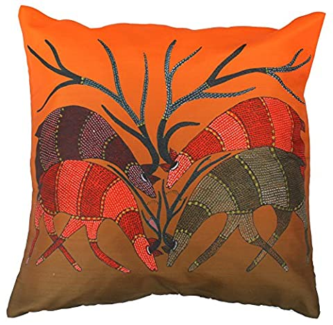 SouvNear Angry Antlers - 45x 45 cm Throw Pillow Covers