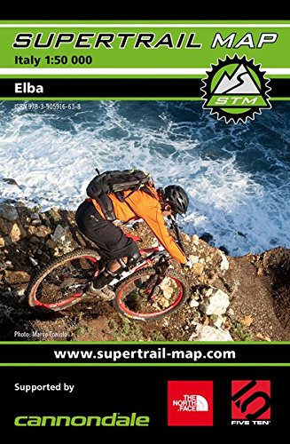 Supertrail Map Elba: Maßstab 1:50 000