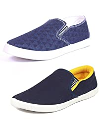 CAIRÖ Shoes For Men Casual Stylish In Various Sizes & Colors (Combo Pack Of 2 Loafers)