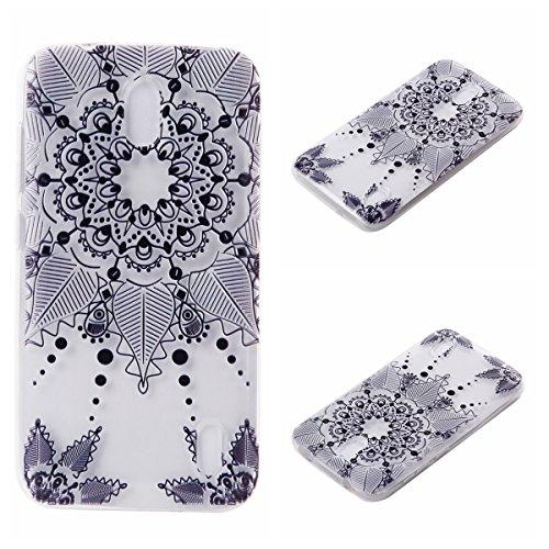 Voguecase® für Apple iPhone 7 4.7 hülle, Schutzhülle / Case / Cover / Hülle / TPU Gel Skin (Rosa Durchstochen) + Gratis Universal Eingabestift Schwarz Durchstochen