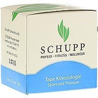 Schupp Kinesiologie Tape 5 cm x 5 m blau preisvergleich bei billige-tabletten.eu