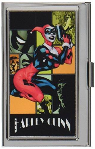 Harley Quinn Metall Multi Wallet Visitenkartenhalter-Tag und Nacht