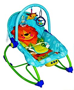 Infant to Toddler Baby Bouncer Swing Chair Rocker Vibration Musical