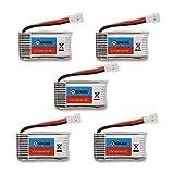 Eachine-H8-Mini-H8S-3D-Quadrocopter-Akku-Batterie-37V-260mAh-Battery-Ersatzteile-5PCS