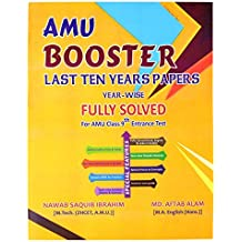 Amu Booster For Amu 9Th Entrance(Year-Wise)