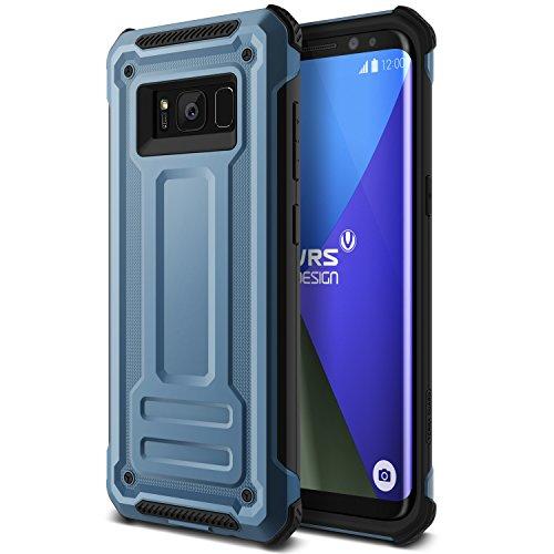 Galaxy S8 Plus Hülle, VRS Design® Schutzhülle [Blau] Heavy Duty Schlagfesten Stoßstangen TPU Bumper Case Kratzfeste Robust Handyhülle [Terra Guard] für Samsung Galaxy S8 Plus 2017