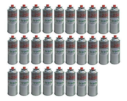 28 Stück Kartusche Gaskartusche 250 g Art. KCG250 Lötkolben für Lötkolben und Öfen für Campingkocher