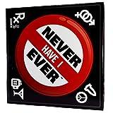 Never Have I Ever INI Juego de Beber para Adultos: Gran Juego para una...