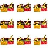Single Click Shopping Fabric 2 in 1 Pack Kumkuma Pasupu Lakshmi Pooja, 12pcs