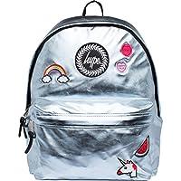 HYPE Backpack Rucksack School Bag for Girls Boys | INSIGNIA BLACK | Ideal Travel Day Shoulder Pack