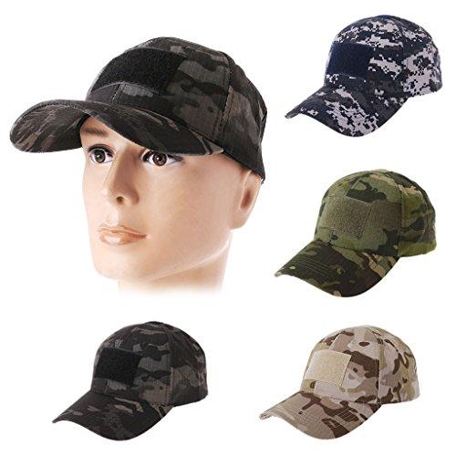 Imagen de jerkky  militar de camuflaje del ejército sombrero de béisbol parche sombrero insignia gancho brassard emblema camo verde alternativa