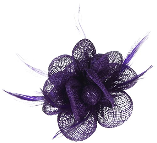 Lukis Mini Hut Damen Fascinator Haar Clip
