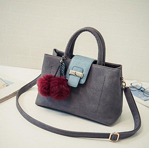 GBT Einfache Art und Weisetendenz-weibliche Tasche gray