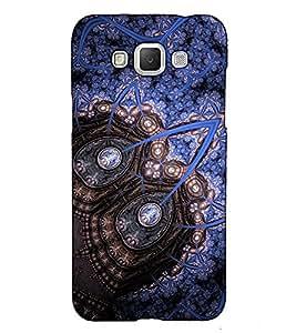 Fuson Designer Back Case Cover for Samsung Galaxy Grand 3 :: Samsung Galaxy Grand Max G720F (Blue designer pattern theme)