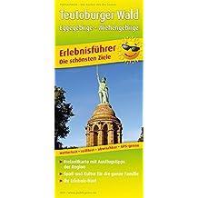 Teutoburger Wald, Eggegebirge - Wiehengebirge: Erlebnisführer mit Informationen zu Freizeiteinrichtungen auf der Kartenrückseite, wetterfest, ... GPS-genau. 1:170000 (Erlebnisführer / EF)