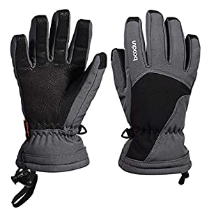 Arcweg Skihandschuhe Kinder Wasserdicht Handschuhe Winter Winddicht Schnee Sporthandschuhe Rutschfest Warme Winterhandschuhe 6-15 Jahre Junge Mädchen