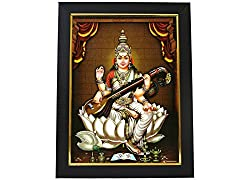 Godess Saraswathi Photo Frame
