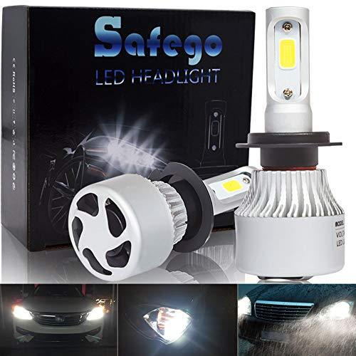 Safego Lampadine H7 LED 8000LM, Fari Abbaglianti o...