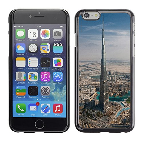 Graphic4You Burj Al Arab At Night Dubai Postkarte Ansichtskarte Design Harte Hülle Case Tasche Schutzhülle für Apple iPhone 6 / 6S Design #8