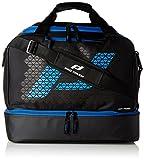 Pro Touch Pro Bag M Force Sporttasche, Schwarz/Blau, 46 x 28 x 39 cm